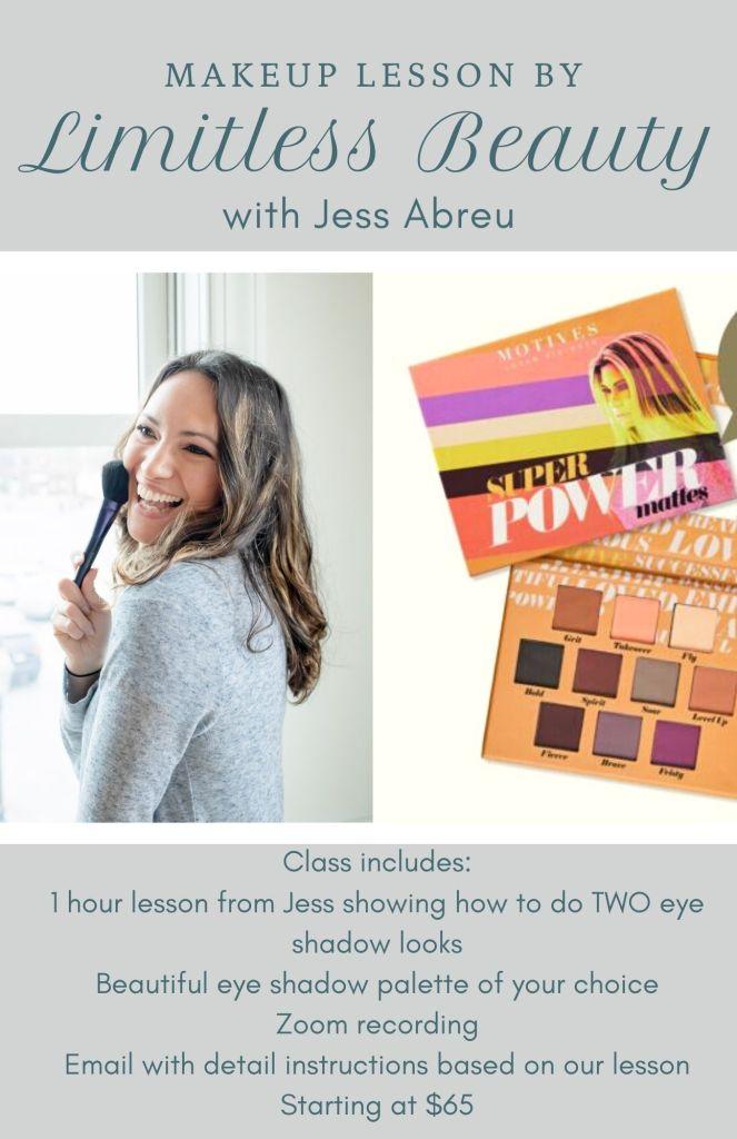 eyeshadow makeuplesson virtual services teaching makeup